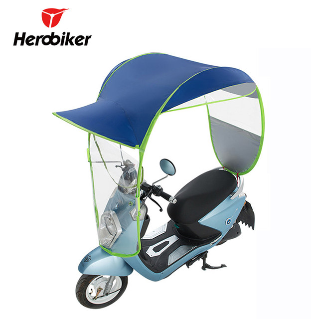 image  sc 1 st  Aliexpress & Online Shop Electric Umbrella Motorcycle Canopy Motorbike Roof ...