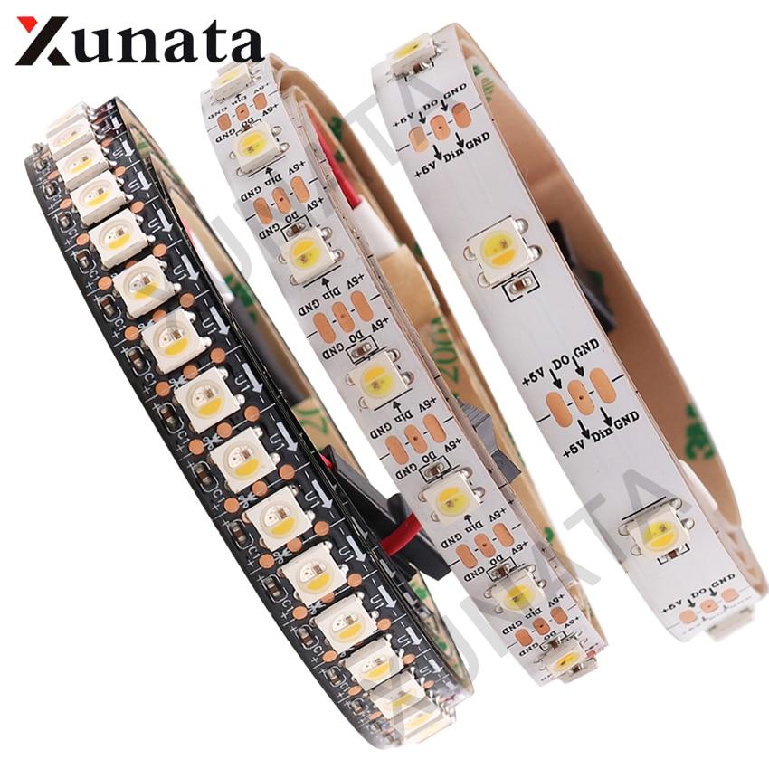 1 M 2 M 5 M Dc5v Address Wie Ws2812b 5 V Sk6812 Rgbw Led Streifen Licht Wwa 4 Farbe In 1 Led Wasserdicht 30/60/96/144 Leds/m Gesundheit Effektiv StäRken