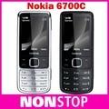 6700c original desbloqueado nokia 6700 classic gold cell phone gps 5mp teclado russo recuperado