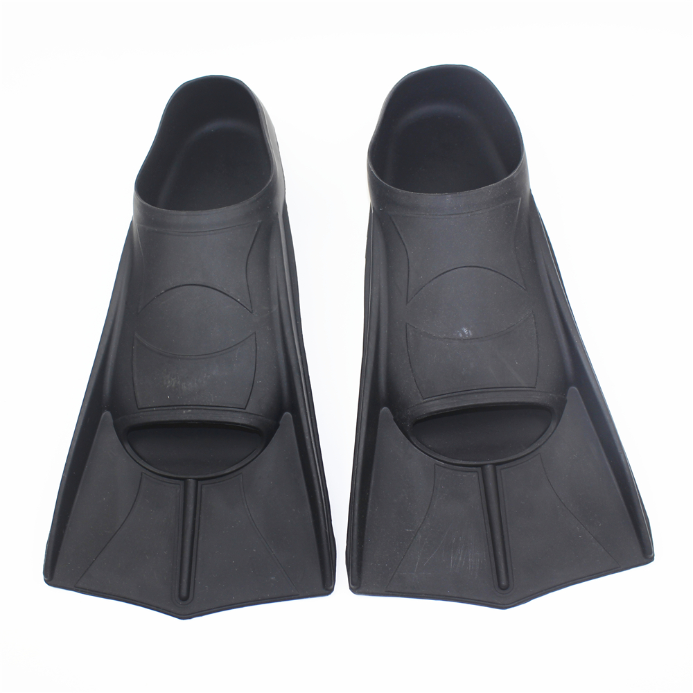 Formación profesional aletas flexible sumergible de S-XL las aletas de natación de silicona buceo aletas