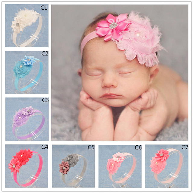 Aliexpress buy 16 year old headwear floral headband chiffon 16 year old headwear floral headband chiffon flower hairband hair weave band kids accessories pmusecretfo Images