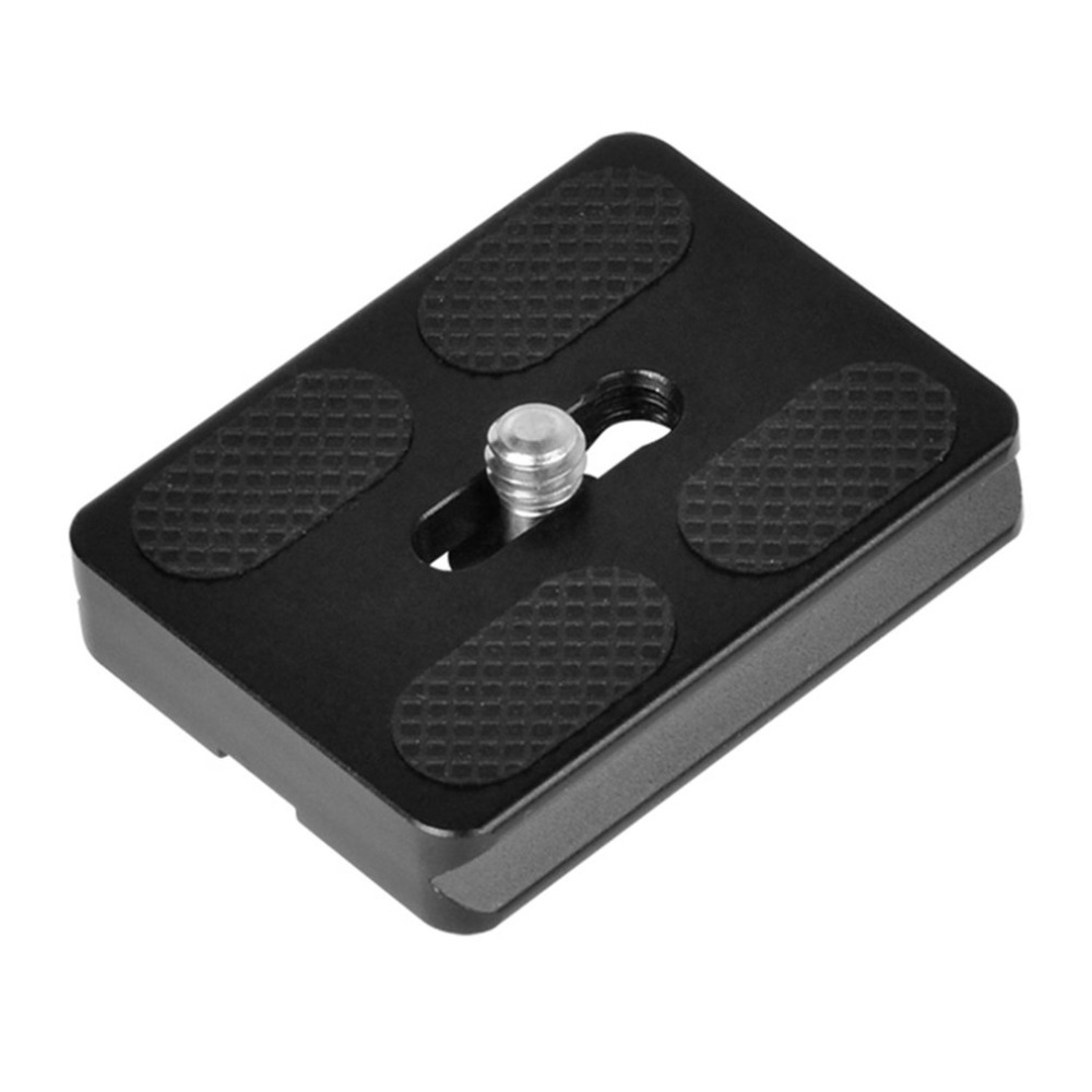PU-50 Universal Aluminium Alloy Quick Release Plate UNC 1/4 Screw for Benro Arca Swiss Tripod Ball Head Photography Equipment