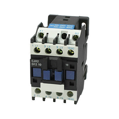 CJX2-12 220-230V 50Hz 3 Phase 1NO Motor Controller AC Contactor 660V 25A sayoon dc 12v contactor czwt150a contactor with switching phase small volume large load capacity long service life
