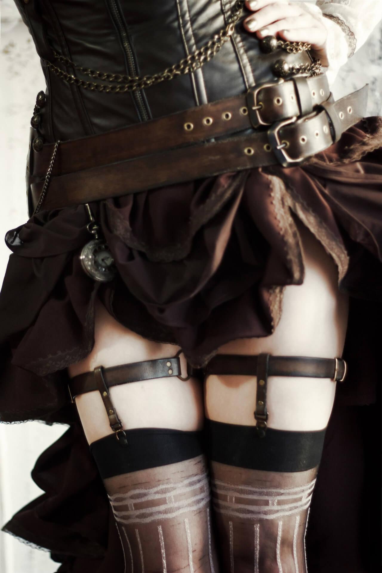 穿上这身最美的皮革装你就能代表女森来科普恋物癖和皮革恋了