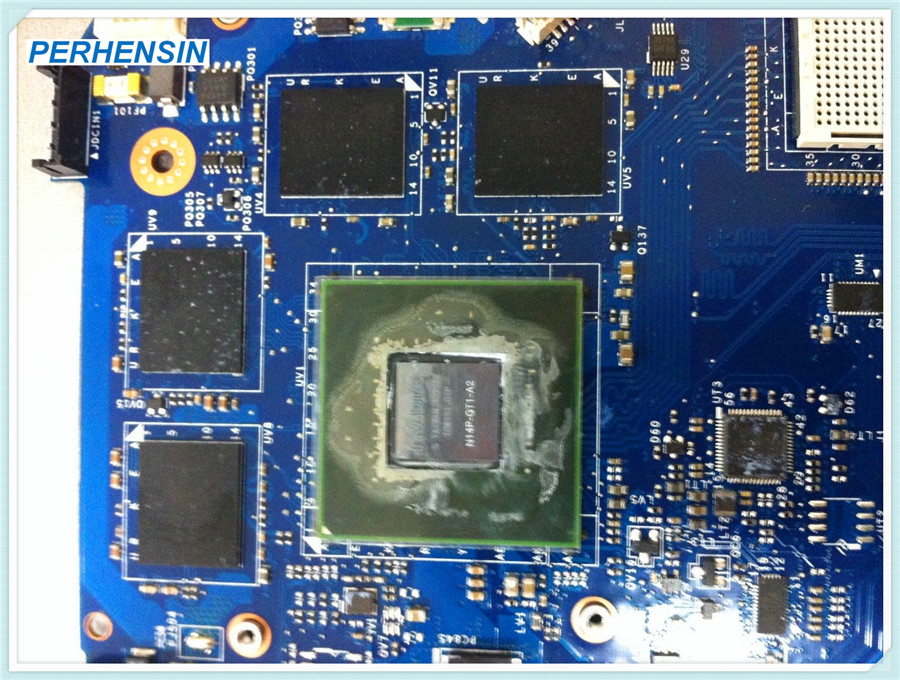 Lenovo Ideapd Y510p, with GeForce GT755M. NM-A032. Mainboard 4