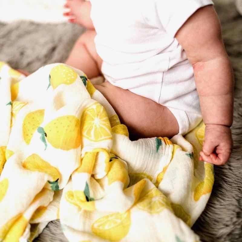 Четырехслойное одеяло из 100% хлопка для новорожденных, очень удобное постельное белье, пеленки-одеяла, муслиновое одеяло