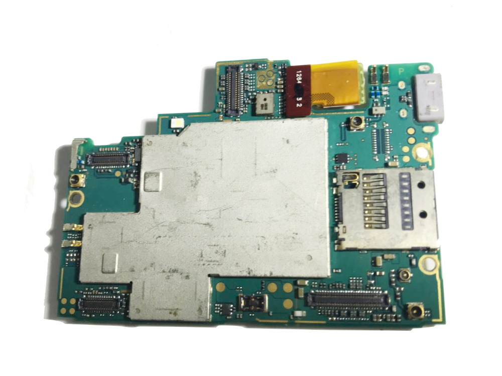 Full Working Unlocked For Sony Xperia Z L36H C6603 Motherboard Mainboard For Sony Xperia Z L36H C6603 Logic Mother Board