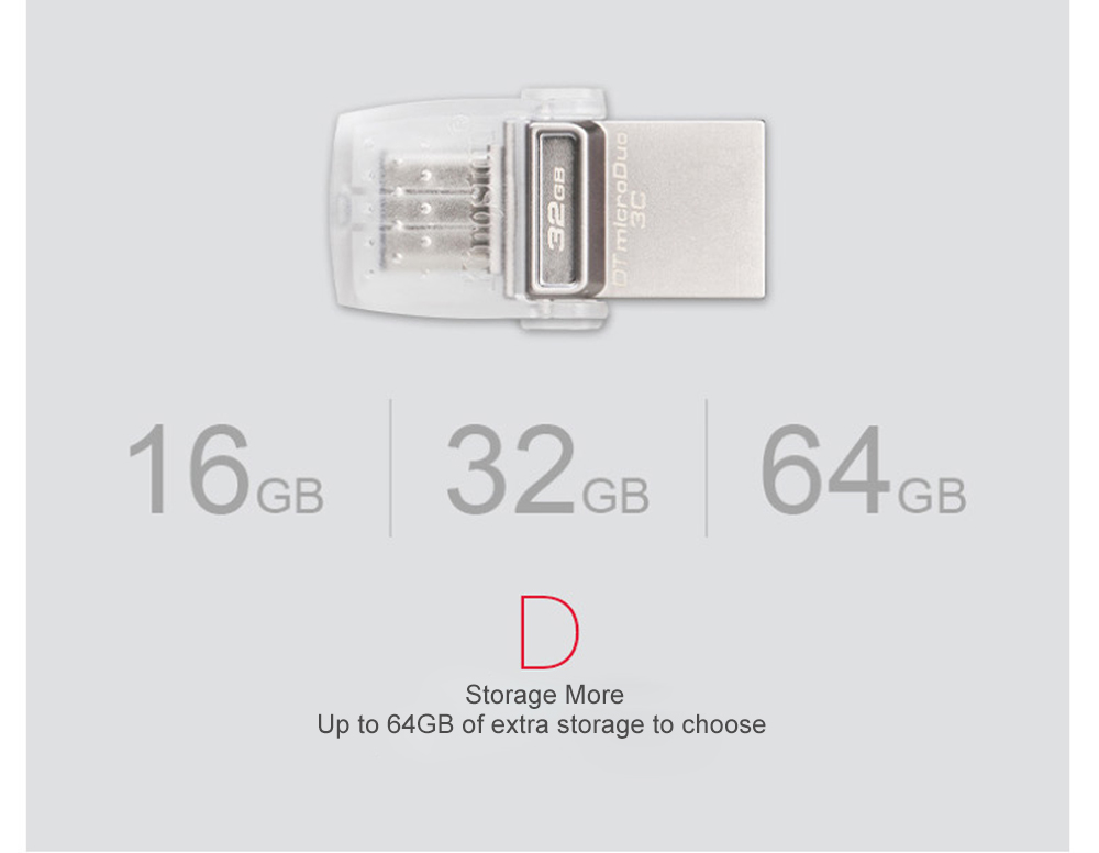 Kingston USB Flash Drive 64GB 32GB 16GB USB 3.1 Type-C Pendrive USB 3.0 Pen Drive Memory Stick for PC  Phone with Type-C Port (15)