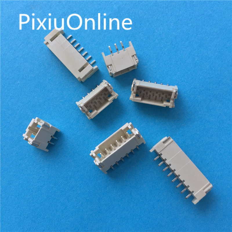 10pcs 2x6 P 12 Pin 2.0 Mm Pin Header Female Dual Row Smt Pcb Surface Mount Smd Reflow Solderable In Bulk Rohs Lead Free High Standard In Quality And Hygiene Connectors