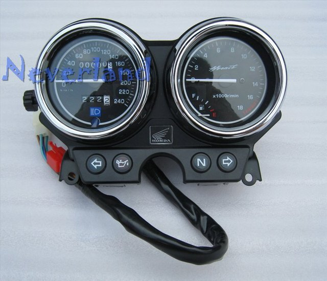 2015 New Motorbike Speedometer Speedo Tachometer Gauges for Honda CB 600 599 F HORNET 2000-2006 Wholesale C10