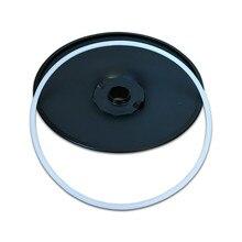 Пластиковое кольцо барный стул диск Нескользящая круглая пластиковая полоса 38,5 41,5 45 50 55 60 см модные барные шасси база стул аксессуары