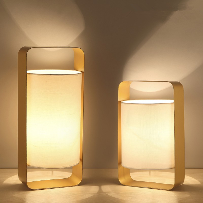 desk lamp Nordic modern simple lighting creative personality desk fashion bedroom bedside lamp Table Lamps цены