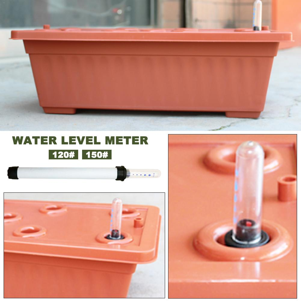 PP Resin Water Level Gauge Water Level Display Water Shortage Reminder Plug And Use Help Plants Grow Healthy Garden Tool
