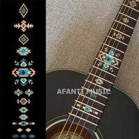 Afanti music Guitar Finger Board sticker / Shell sticker Inlay (FPD 128)
