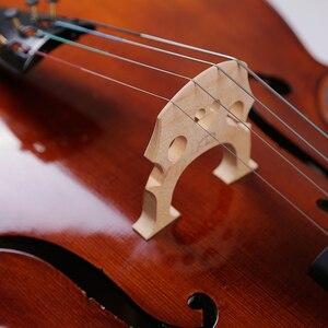 Image 5 - SevenAngel Handcraft Oil Varnish Antique Cello 4/4 Natural Flamed Grade AAA Spruce Panel ViolonCello Musical Instruments