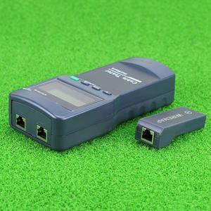 Image 3 - KELUSHI Multifunction Network LAN Phone Cable Tester Meter Cat5 RJ45 Mapper 8 pc Far Test Jack NF 8108 M