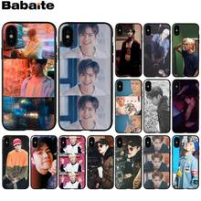 Babaite GOT7 Jackson Wang Copertura Della Cassa Del Telefono di TPU nero Borsette per Apple iPhone 8 7 6 6S Plus X XS MAX 5 5S SE XR Mobile Custodie(China)