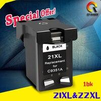 1 Black Ink Cartridges Compatible For HP 21xl Deskjet F2180 F2280 F4180 F4100 F2100 F2200 F300