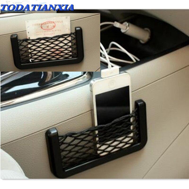 Sac à filet de rangement pour siège de voiture   Sac à dos universel, 14x7cm, pour duster renault rav4 ford civic nissan teana j32 ix25 camry 50