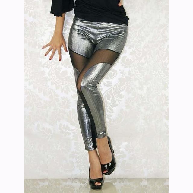 Mode Et Solide Transparent Haute Voile 2017 Femmes Leggings Taille 6qTEdwxw