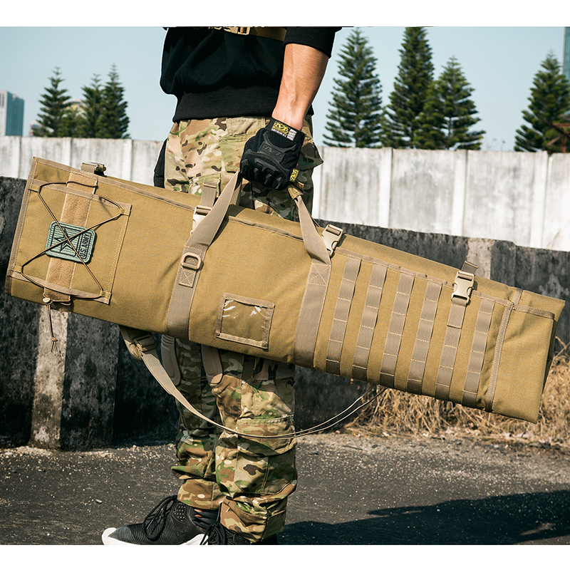 OneTigris Tactical MOLLE Gun Case Roll Up Shooting Mat Shooting Accessories Hunting Rifle Cleaning Mat for