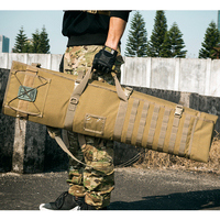 OneTigris Tactical MOLLE Gun Case Roll Up Shooting Mat Shooting Accessories Hunting Rifle Cleaning Mat for Rifles