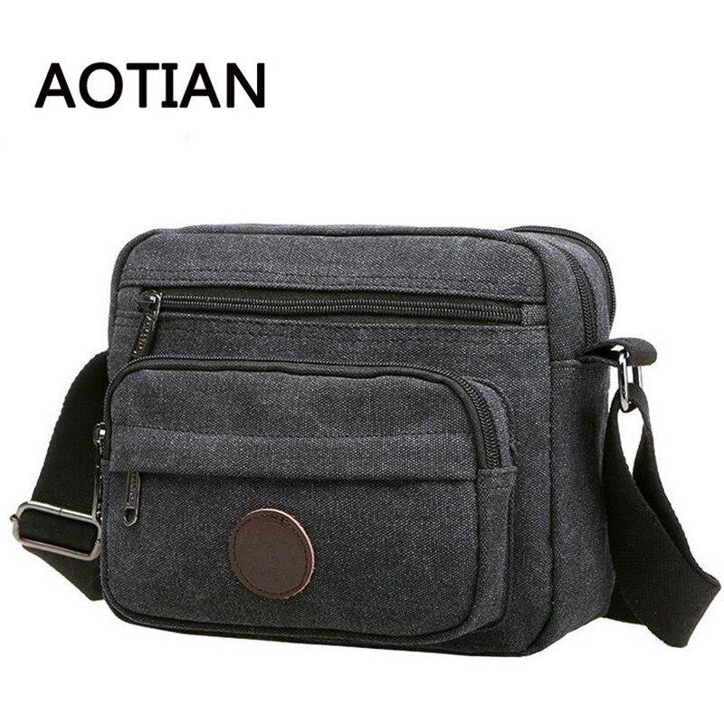 Realer Brand 2017 Men Messenger Bags High Quality Men's Travel Bag Shoulder Bag Shop Online Handbags Vintage Canvas Shoulder Bag