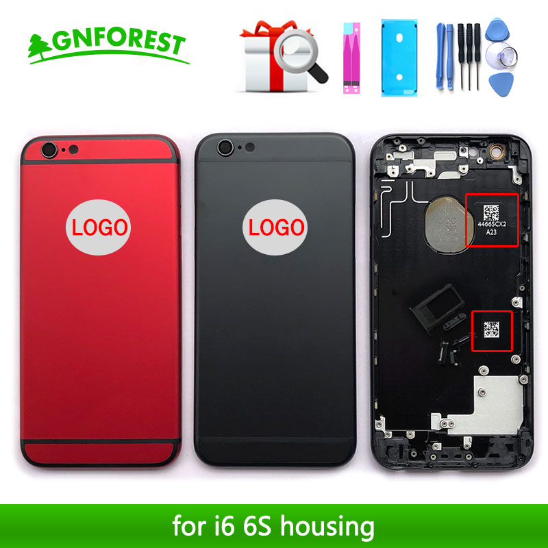 Back-Housing Battery-Cover Sticker LOGO IMEI Middle-Frame iPhone 6s-Plus A1524 for A1522/A1524/Battery-cover/..