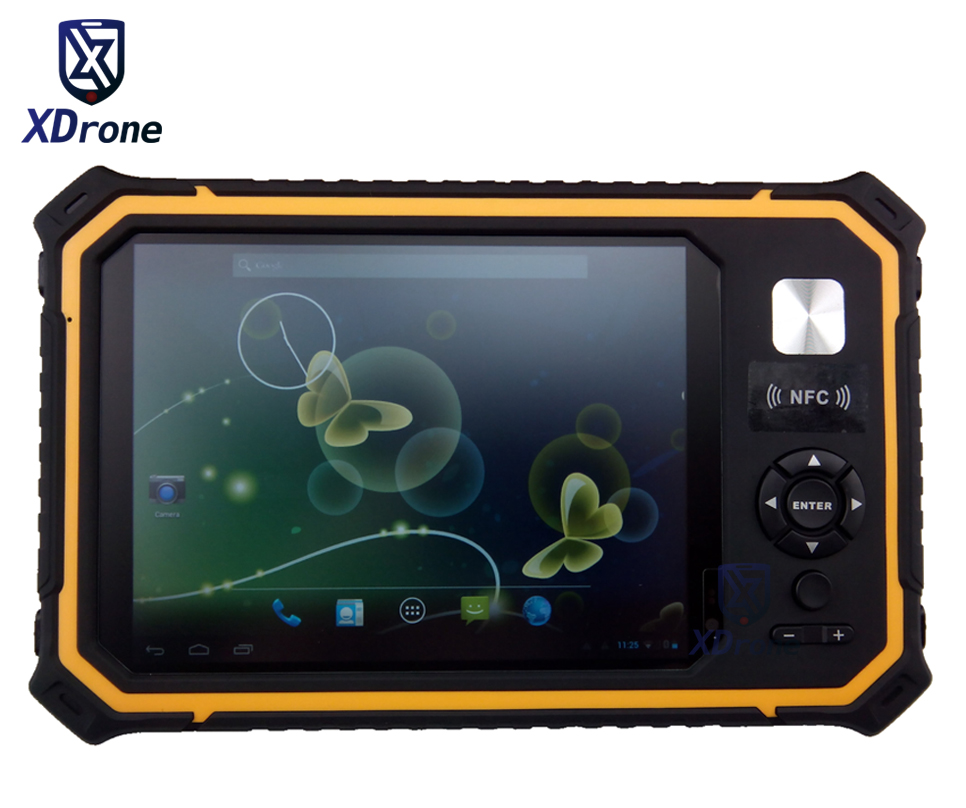 China T80 Rugged Industrial Tablet PC Phone Fingerprint IP67 Waterproof Shockproof Android 7 9 Inch 1GB