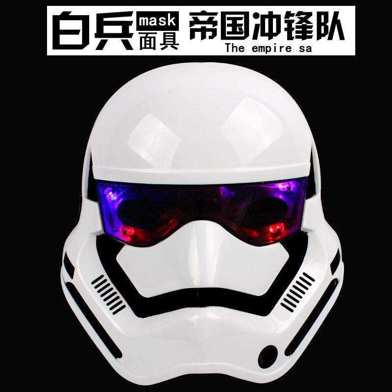 Star Wars maska Darth Vader i Stormtrooper maska s LED - Igračke figurice - Foto 4