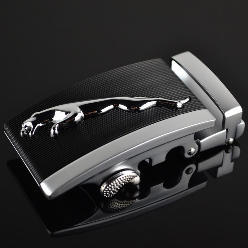 Fashion Men's Business Alloy Automatic Buckle Unique Men Plaque Belt Buckles For3.5cm Ratchet Men Apparel Accessories LY125-0182