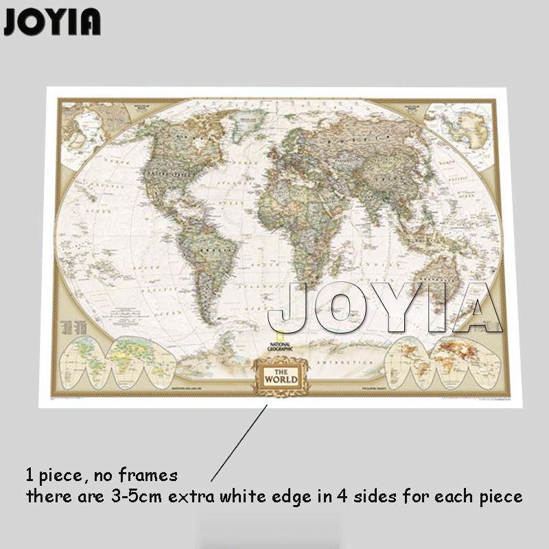 Old world map painting extra large artwork choice image for Kitchen cabinets lowes with antique world map wall art