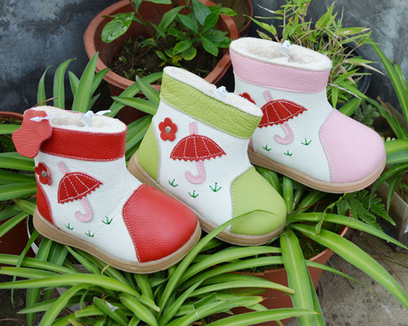 Winter Boys Girls Snow Boots Children Kids Snow Boots Insoles 13-15cm ...