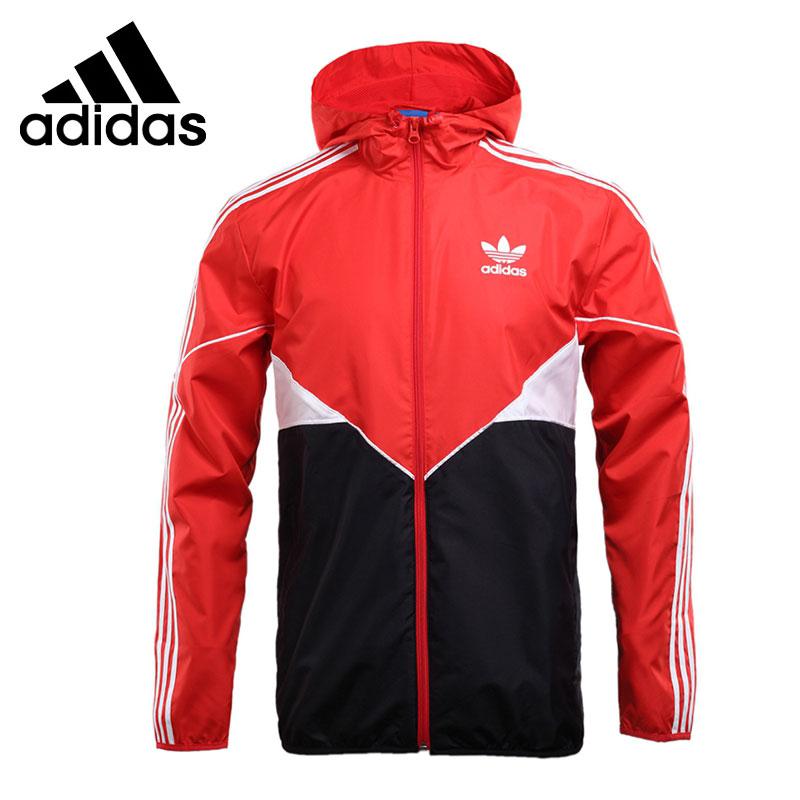 Original New Arrival Adidas Originals CLROD WB Men's jacket Hooded Sportswear original new arrival official adidas originals 3striped wb men s jacket hooded sportswear