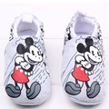 Primavera e no outono inverno meninas do bebê recém-nascido 4-15 meses de Mickey série dois não pode dar ao luxo de primeira caminhada shoes algodão xz30