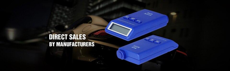 Цифровой датчик толщины покрытия BSIDE CCT02 Мини измеритель толщины краски автомобиля пленка краска покрытие тестер вихревой ток(F+ N