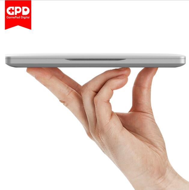 New Original GPD Pocket 7 Inch Aluminum Shell Mini Laptop UMPC Windows 10 System CPU x7-Z8750 8GB/128GB ( Silvery)
