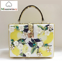 Luxury Italy Brand Sicily Ethnic Floral Bag Genuine Leather Tote Bags Lady Shoulder Bag Famous Designer Women Evening Party Bags