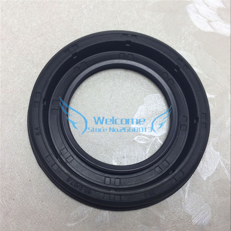 Wave/Gear box front oil seal for CRUZE 1.6/1.8 NEW REGAL LaCrosse Excelle XT GT 24230691 SIZE:39.6*65.2/67.8*8.4