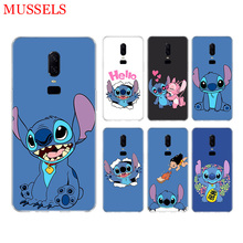 Stitchs Blue Phone Soft TPU Back Case for OnePlus 7 Pro 6 6T 5 5T 3 3T 7Pro Art Gift Patterned Customized Cases Cover Coque Capa