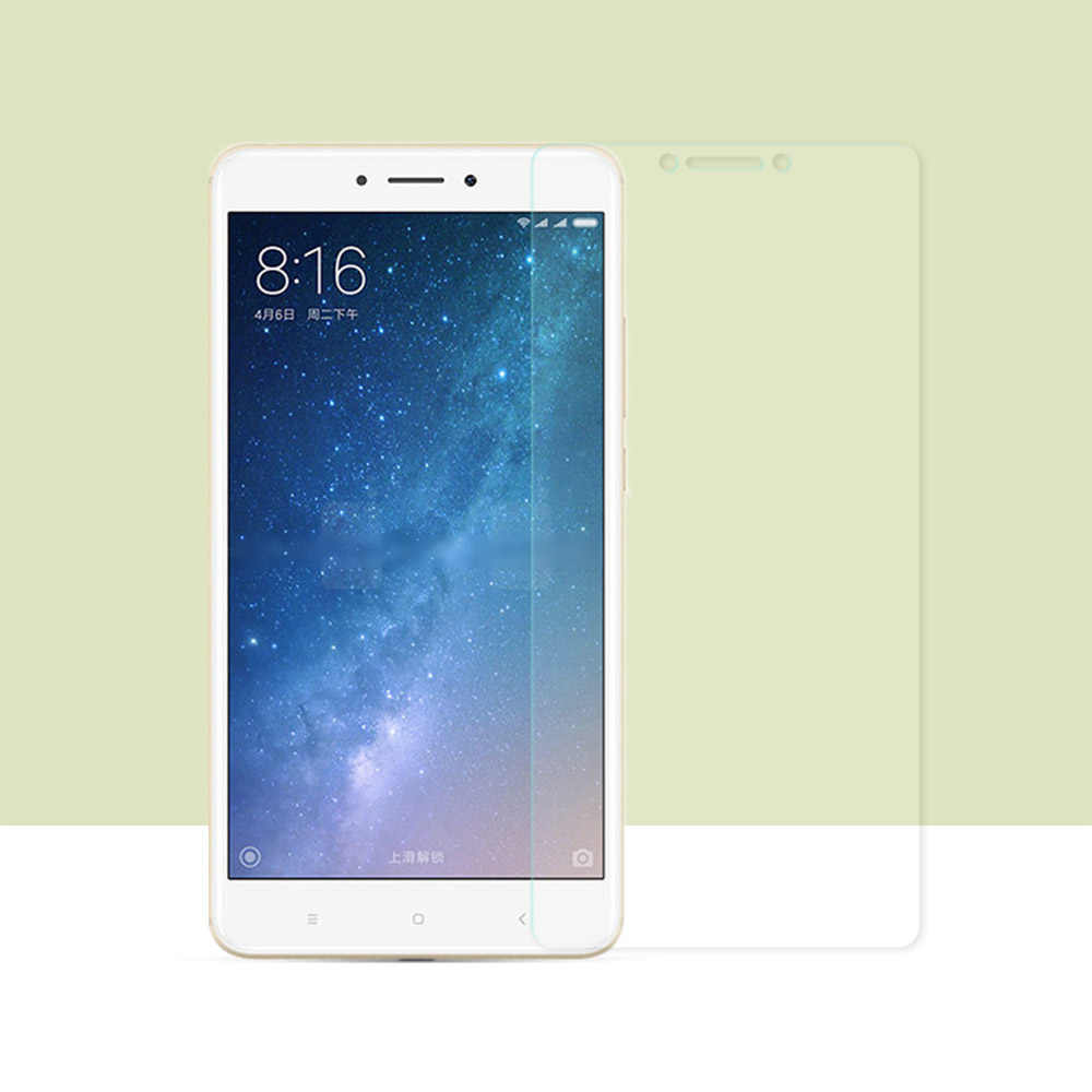 2PCS For Xiaomi Mi Max 2 Tempered Glass Screen Protector For Xiaomi Mi Max 2 Glass Mi Max 2 Protective Phone Film Cover 6.44""