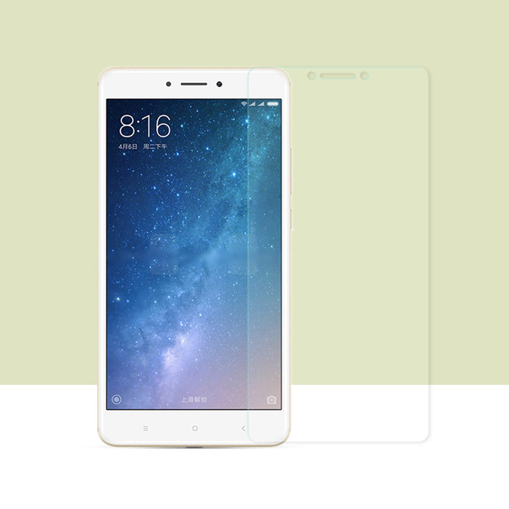 2PCS For Xiaomi Mi Max 2 Tempered Glass Screen Protector For Xiaomi Mi Max 2 Glass Mi Max 2 Protective Phone Film Cover 6.44