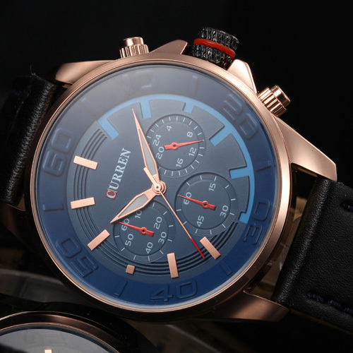 2016 New CASUAL CURREN MEN MILITARY WATCHES MALE CLOCK FASHION QUARTZ WATCH MEN CLOCK HOUR DIAL LEATHER MEN WRIST WATCH Reloj 2016 new men fashion