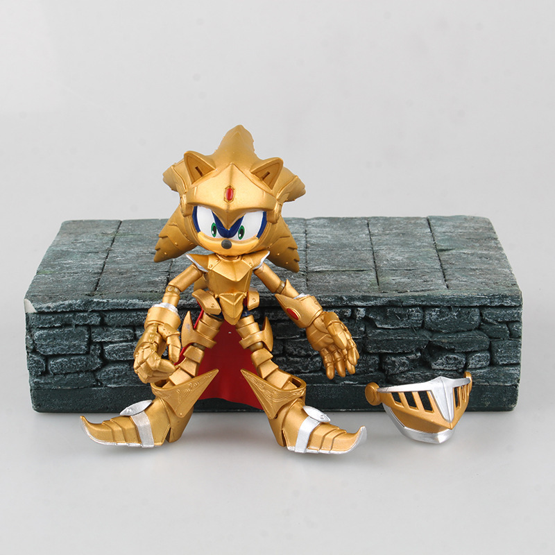 NEW hot 12-14cm Sonic the Hedgehog limited edition collectors action figure toys Christmas doll new mf8 eitan s star icosaix radiolarian puzzle magic cube black and primary limited edition very challenging welcome to buy