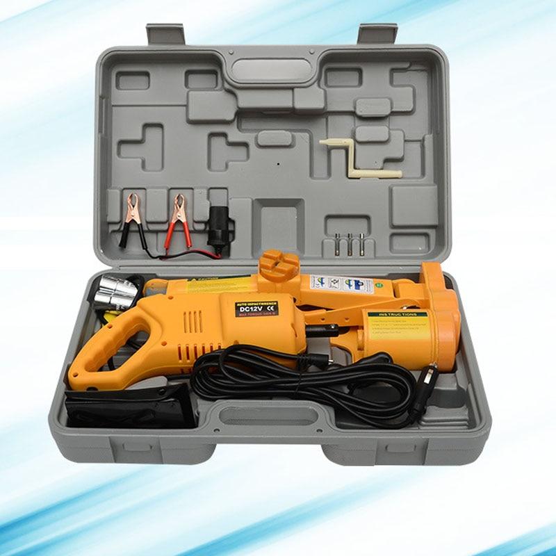 Full set Portable scissors electric push rod Elevating capacity2Ton Portable scissors el ...