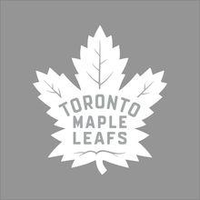 Toronto For Maple Leafs NHL Team Logo Color Vinyl Decal Motorcycle SUVs Bumper Sticker Car Window
