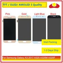 ORIGINAL For Samsung Galaxy A3 2017 A320 A320M A320F A320Y LCD Display With Touch Screen Digitizer Panel Pantalla Complete