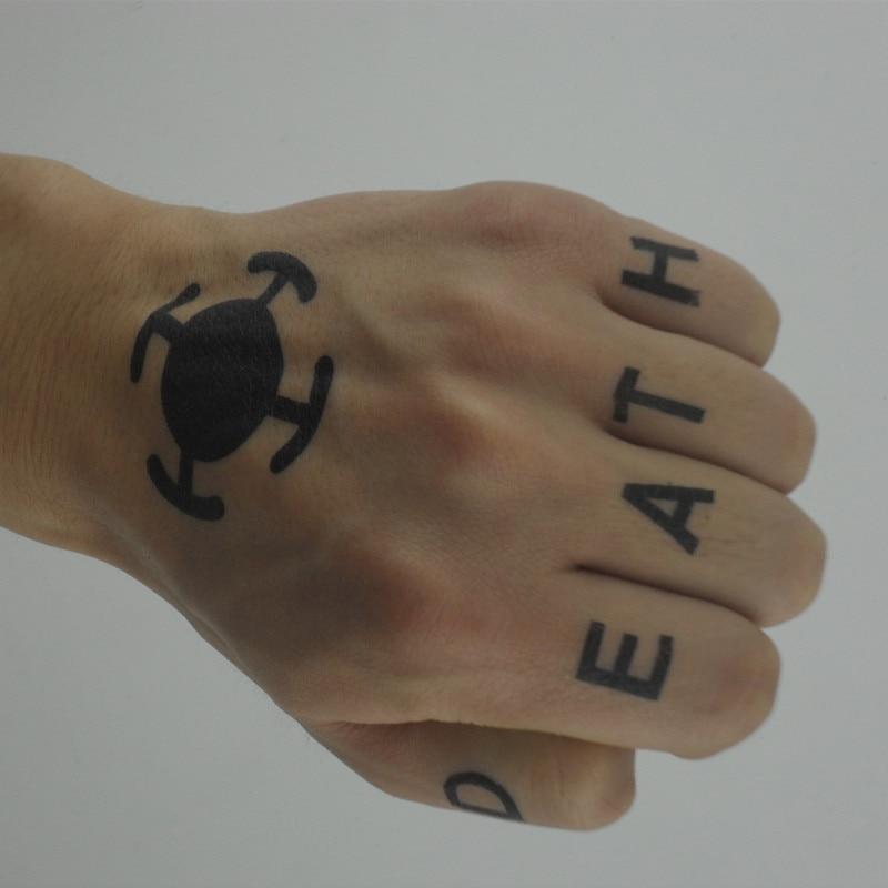 Trafalgar law tattoo free shipping worldwide 1 fan shop for One piece law tattoos