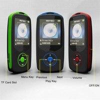 1.8 inç TFT Ekran HiFi 8 GB SD Kart Yuvası Ile Spor Müzik Çalar, FM, Alarm, Takvim, kronometre, Taşınabilir Mini MP3