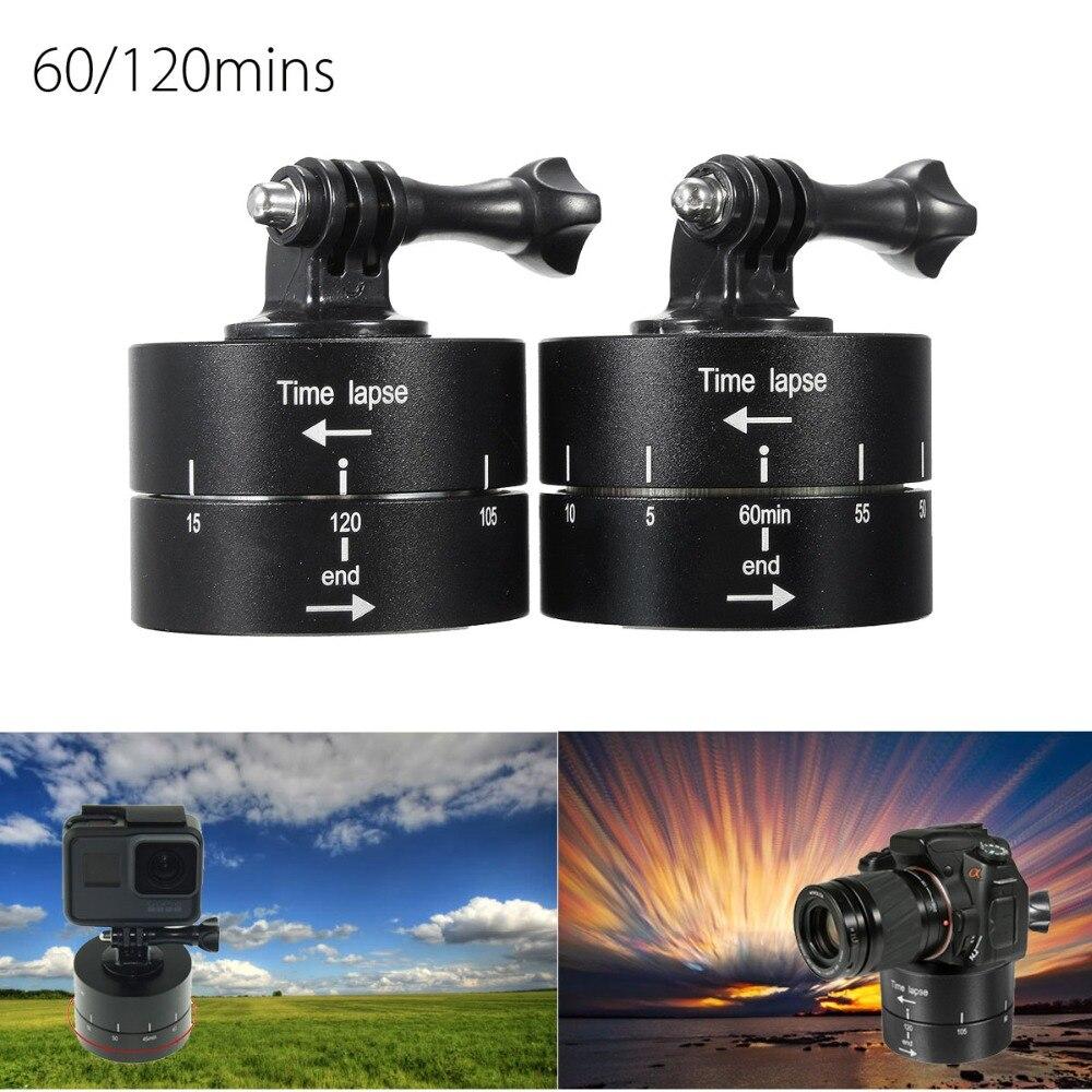 1 pc 360 Degrés Panoramique Tournant Accéléré Stabilisateur Trépied Adaptateur pour Gopro DSLR Sport Caméras Portable 60/120 Minutes